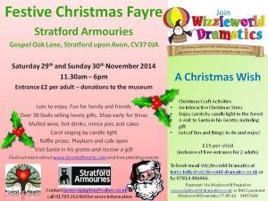 A Christmas Wish - bookings now being taken